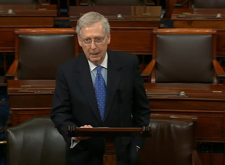 McConnell rails against Mueller report politics in blistering floor speech: 'Case closed'