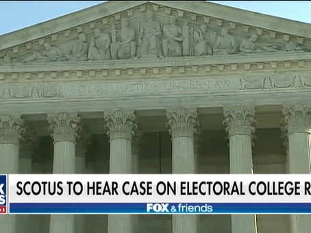 Supreme Court to decide if Electoral College voters must vote for winner of state