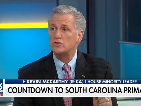 McCarthy predicts Democrats will lose House, says they have 'surrendered to the socialists'