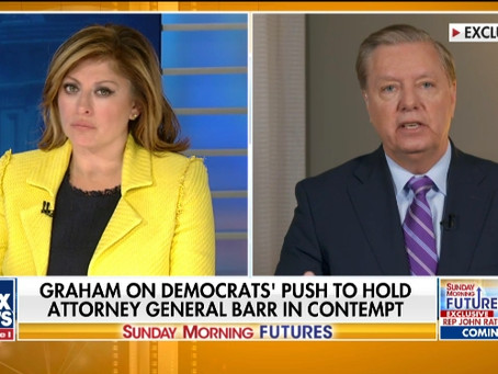 Graham: The media could care less about anything to do with Clinton; they just want to 'get' Trump
