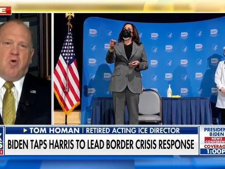 Homan blasts Kamala Harris as 'worst' possible choice to lead Biden border crisis response