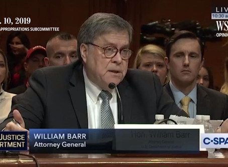 Barr Brings Accountability
