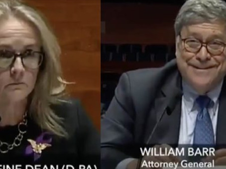 Dem Rep Sits Stone-Faced as Barr Cracks Up Laughing at Her Ridiculous Line of Questioning