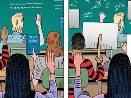 Dividing by Race Comes to Grade School