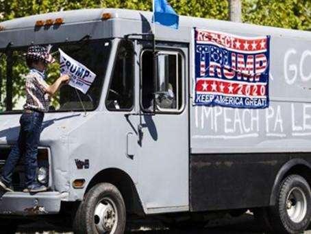 Dead heat: Trump erases Biden's 8-point lead in Pennsylvania as black voters abandon Democrat