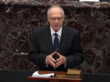 Dershowitz calls out House Dems in Trump's Senate impeachment trial after Bolton shock waves
