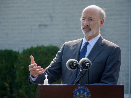 Fed judge in Pittsburgh declares Wolf's key COV-19 restrictions unconstitutional; Wolf plans appeal