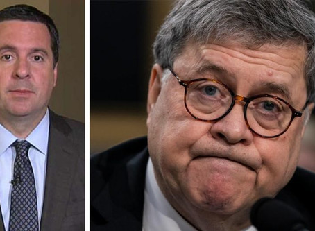 Nunes sends criminal-referral notification to Barr, alleges several 'potential violations' in Russia