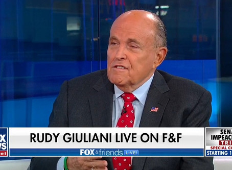 Giuliani: I can't sit by and watch my country be sold out by Joe Biden