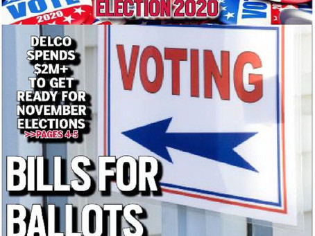 Delaware County council spends over $2M to get ready for election