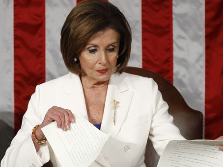 Pelosi's SOTU tantrum was also an acknowledgment of defeat