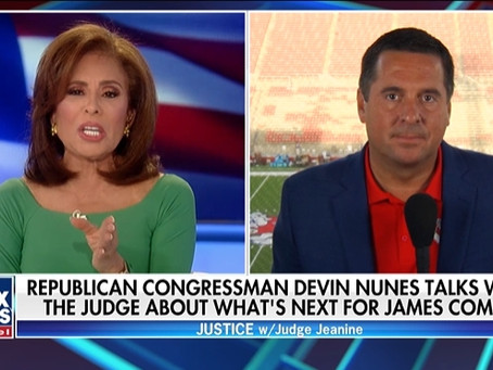 Rep. Devin Nunes on what the future holds for James Comey