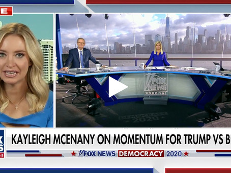 Dem cities boarding up 'all the proof you need' the left shouldn't have 'federal power': Kayleigh Mc