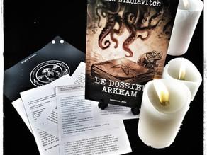 Le dossier Arkham - Alex Nikolavitch