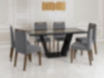 Mesa Dália_Preto-Demolição + Cadeira Ala