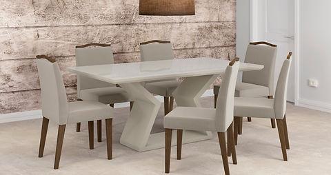 Mesa Lia_Off + Cadeiras Bella_Castanho-B