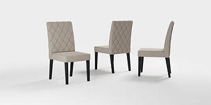 Cadeira Dara_Preto-Bege Real Bordado_FI_