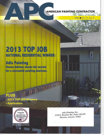 2013-14 Top Job APC Magazine