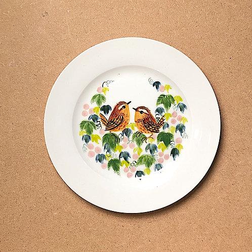 Aya Mouri Robin and Wren Plates