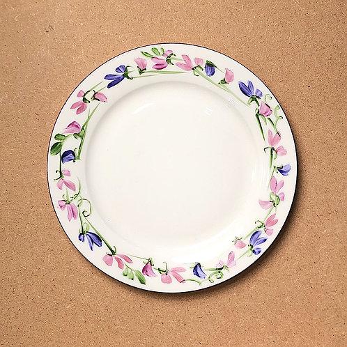 Katy Firmin Sweet Pea Plates