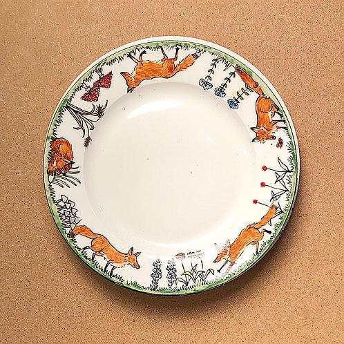 Charlotte Firmin Fox Plates