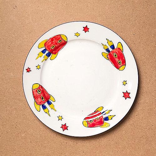 Sheila Collins Rocket Plate