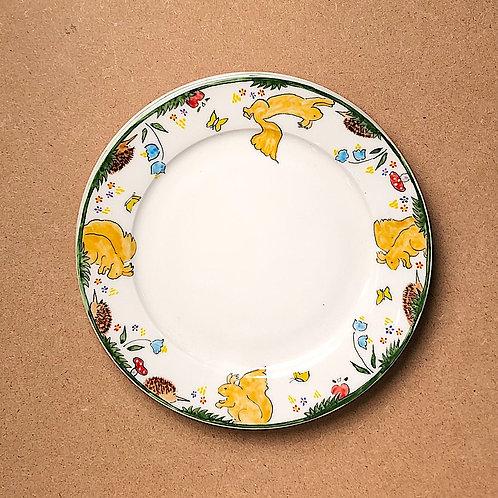 Harriet English Animal Plates