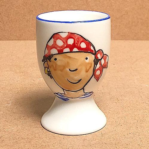 Josie Firmin Pirate Egg Cups