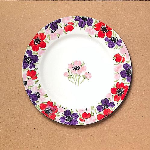 Fletcher Prentice Flower Plate