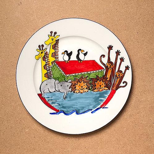Sheila Collins Noah's Ark Plate