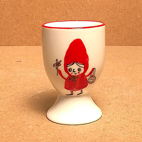 Lettie Pidgeon Red Riding Hood Egg Cups