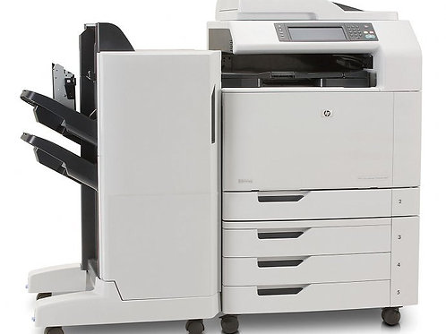 HP Color Multifunction CM6040F With Finisher Unit