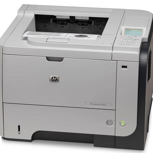 HP Laserjet P3015DN B/W Printer