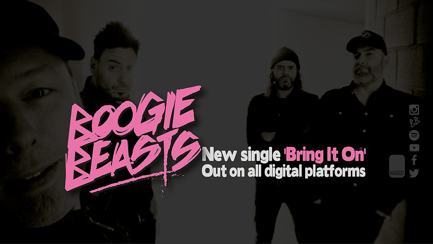 Boogie Beasts banner Bring It On single