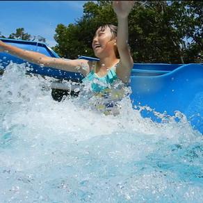 2019年7月13日(土)よりウォータースライダー付きの屋外プール営業開始!