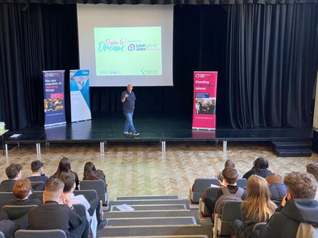 Kreston Reeves encourage young people to Dare to Dream