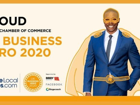 Recognised as Business Heroes across the UK!