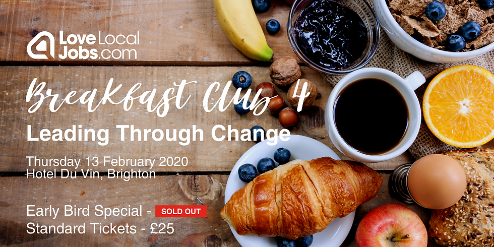 Breakfast Club Four - Leading Through Change