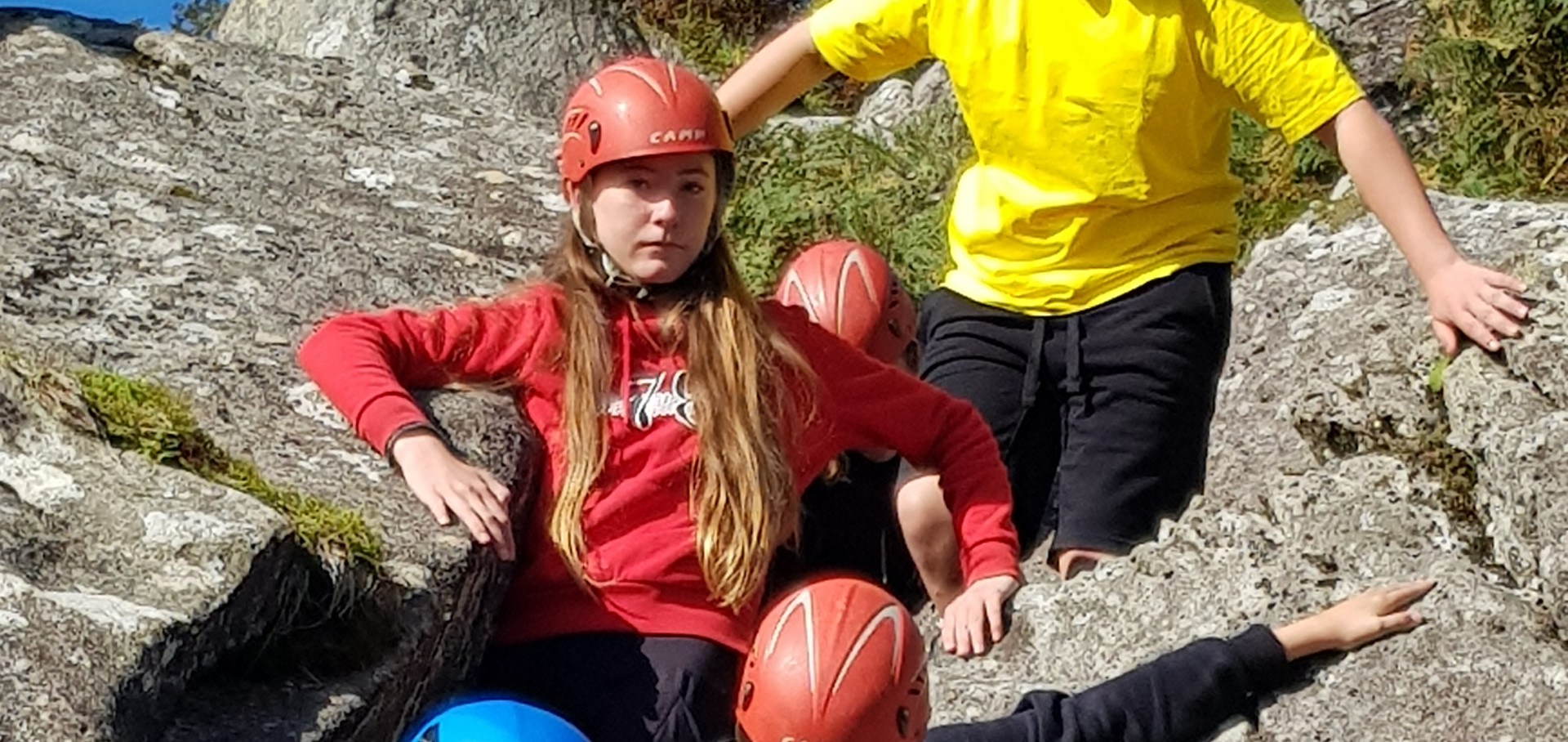 Climbing at Take the Leap