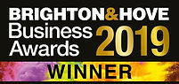 Brighto and Hove Business Awards 2019 WINNER
