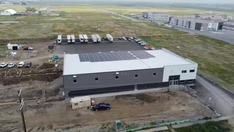 Galaxy Cross Dock Facility Fly By