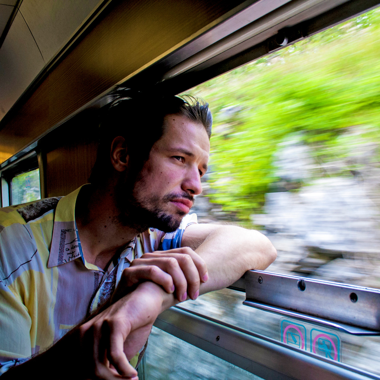 We shared a cabin with Ivan travelling to Slovenia, he gave us plenty of tips that really helped!