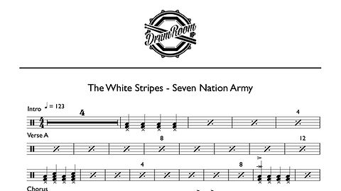 Seven Nation Army - drum sheet music.jpg