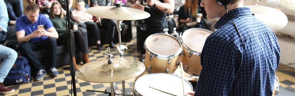 Обучение игре на барабанах   Барабанная школа DrumRoom   Бесплатный урок