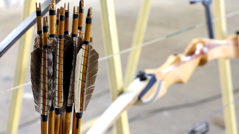 Kit Class Fletching Target Arrows