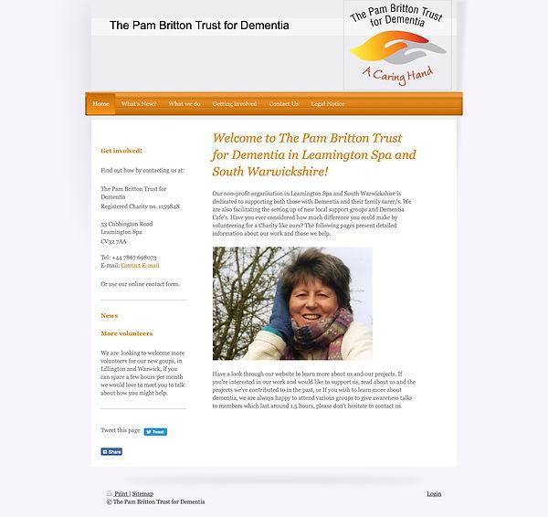 The Pam Britton Trust for Dementia: Home
