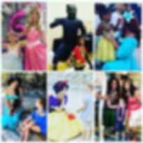 black panther party, snow white, jasmine, moana, maui, black panther orlando