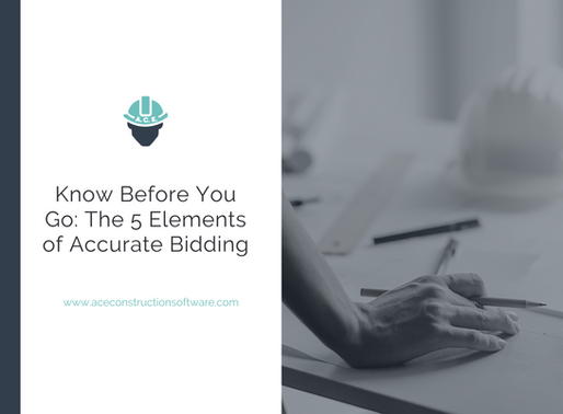 Know Before You Go: The Five Elements of Accurate Bidding