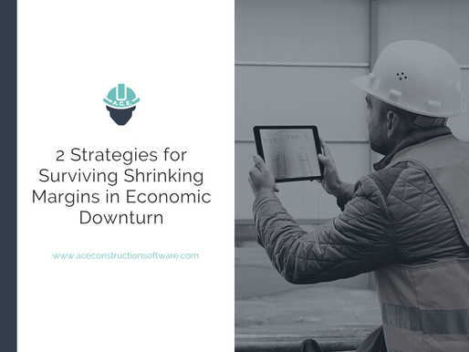 2 Strategies Subcontractors Can Implement to Survive Shrinking Margins During an Economic Downturn