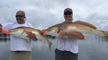 Trophy Redfish and the fixings!